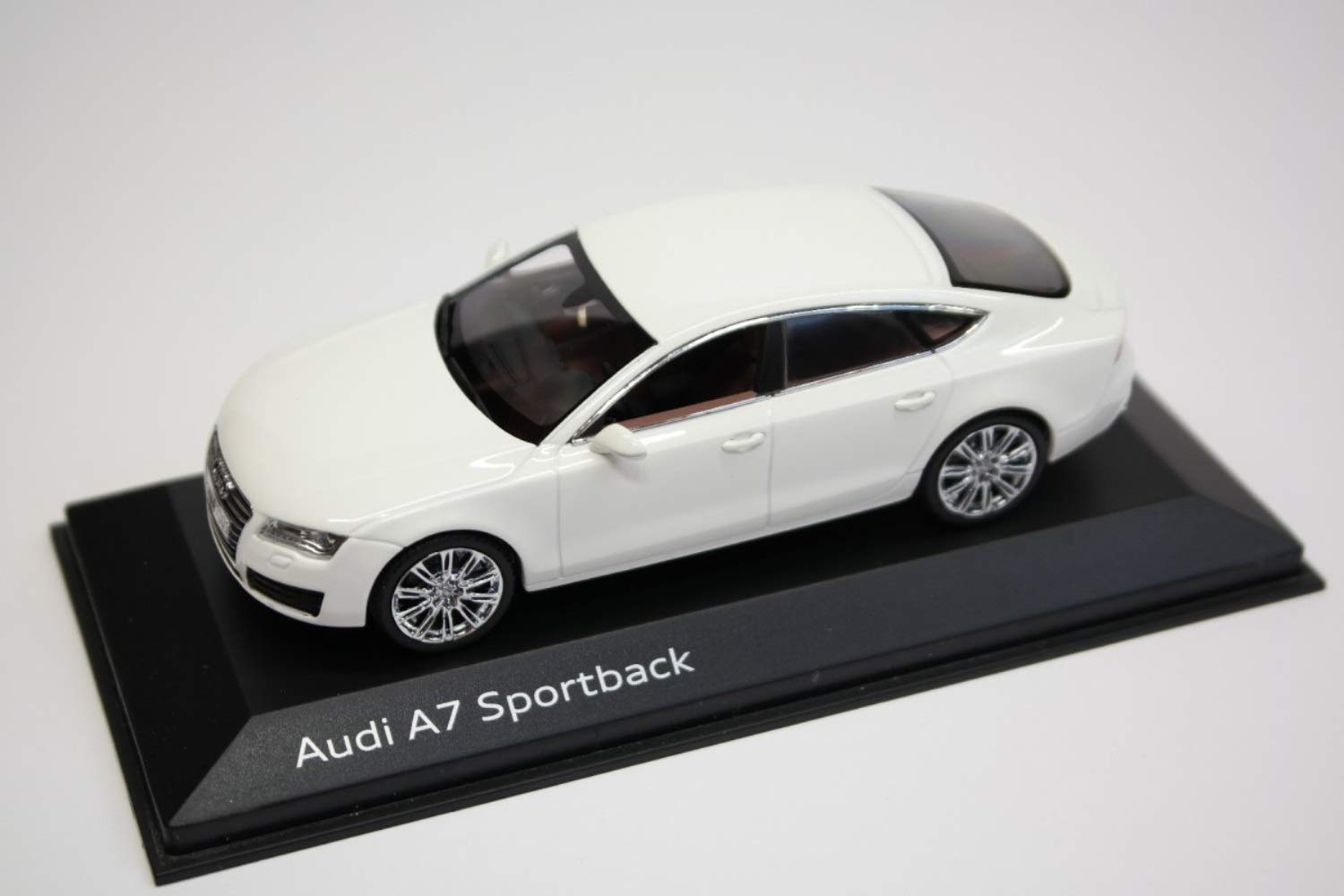 Audi A7 Sportback C7 Ibis White 2010 Year - Executive car (E) - 1/43 Scale Collectible Model Vehicle - 5-Door Liftback, Dealer Edition by 1/43 AZEBUY - SUPERCARS