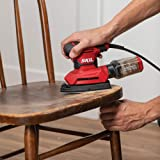 SKIL Corded Multi-Function Detail Sander with 12Pcs Sanding Paper & 3Pcs Additional Detail Attachment - SR232301