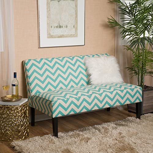 Christopher Knight Home Alpha Light Blue Pine Loveseat
