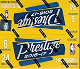2016 2017 Prestige NBA Basketball Series Unopened Retail Box of 24 Packs with One Autographed Card Per Box