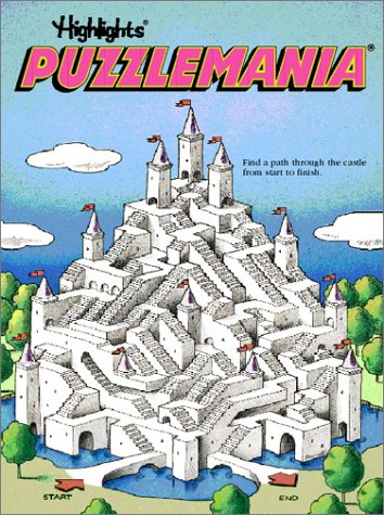 Puzzlemania Book 1 (More Brain Busters and Mind Twisters) (v. 1)