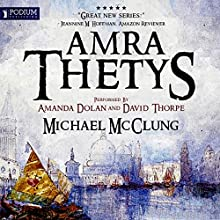 Amra Thetys Audiobook by Michael McClung Narrated by Amanda Dolan