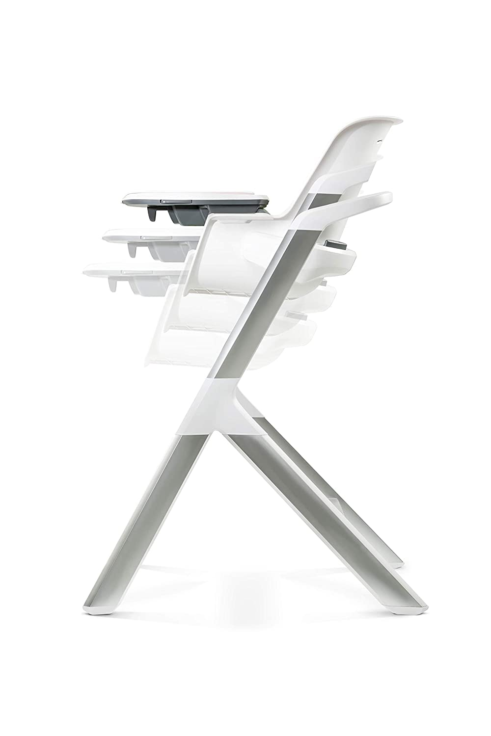 4moms Magnetic Magic Highchair 2.1 White Grey