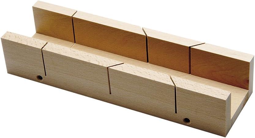Bohrcraft – 26 – 130030 – 0 Caja de ingletes madera longitud 300 mm