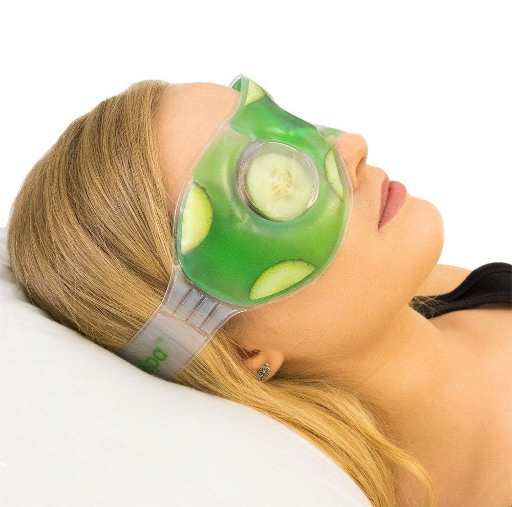 Antifaz refrescante con gel de pepino de EyeSpa UK Innovations GP Ltd