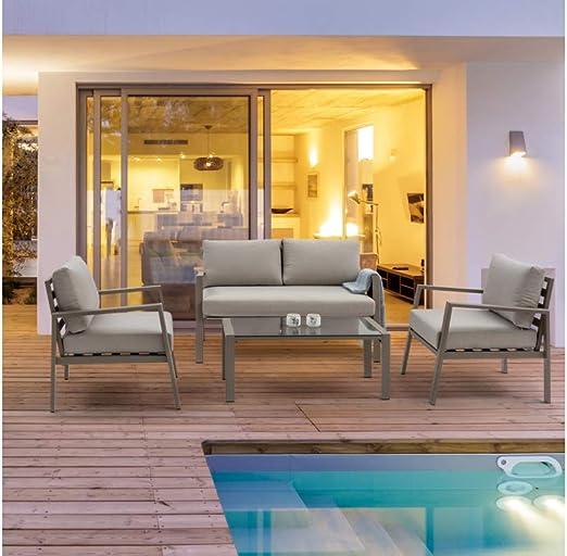 Andrea Bizzotto s.p.a. Salon de Jardin Koral en Aluminium ...