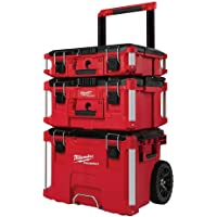 Milwaukee PACKOUT 3-Piece Tool Box Kit