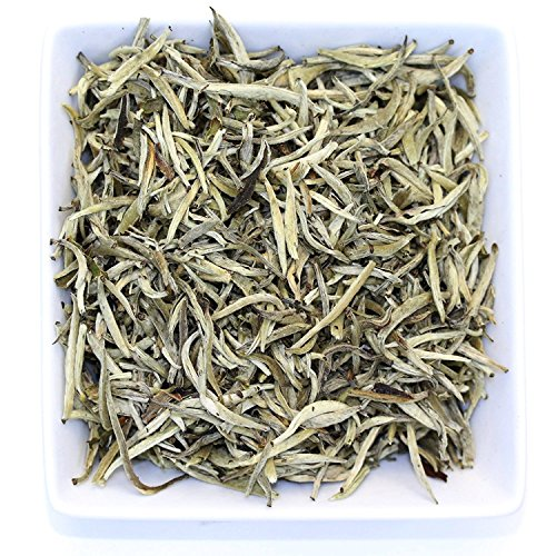 Tealyra - Imperial Yunnan Silver Needle - White Loose Leaf Tea - Organically Grown - Caffeine Level Low