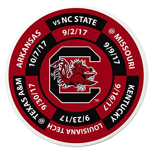 Siskiyou NCAA South Carolina Fighting Gamecocks Schedule Golf Ball Marker Coin