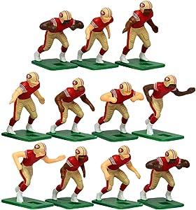 San Francisco 49ersHome Jersey NFL Action Figure Set