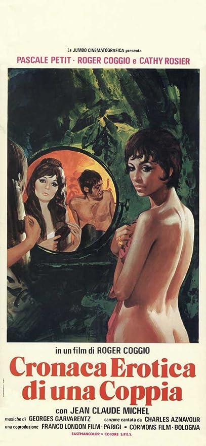 cronaca di una pareja Póster de película erótica italiana - 34 cm x 72 cm  13 x 28: Amazon.es: Hogar
