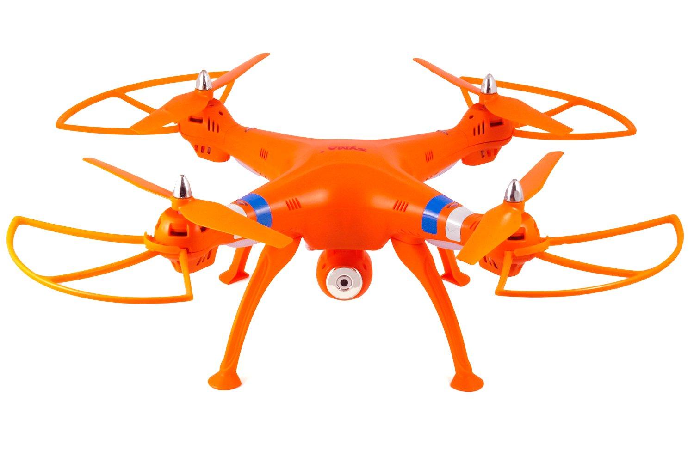 Syma X8W 2.4Ghz 4CH RC Headless FPV (Real Time) Quadcopter with Wifi Camera - Orange