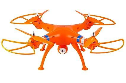 Syma X8 W 2.4 GHz 4 CH RC FPV sin Cabeza (Real Time) Quadcopter ...