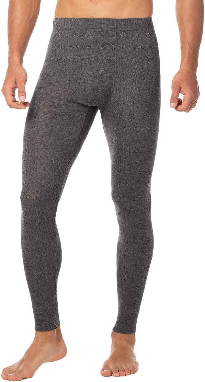LAPASA Men's 100% Merino Wool Thermal Underwear Pants Long John Leggings Base Layer Bottom M30 at  Men's Clothing store