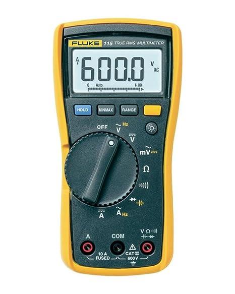 fluke 115 multimeter manual