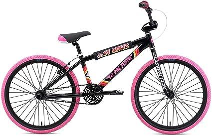 d6e48c716c2 Amazon.com : SE So Cal Flyer 24 BMX Bike Black Mens Sz 24in : Sports ...