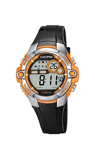 Calypso 0 - Reloj de cuarzo unisex infantil, con correa de 0, color negro: Amazon.es: Relojes