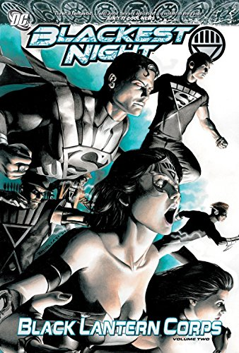 English Black Lantern - Blackest Night Black Lantern Corps TP Vol 02
