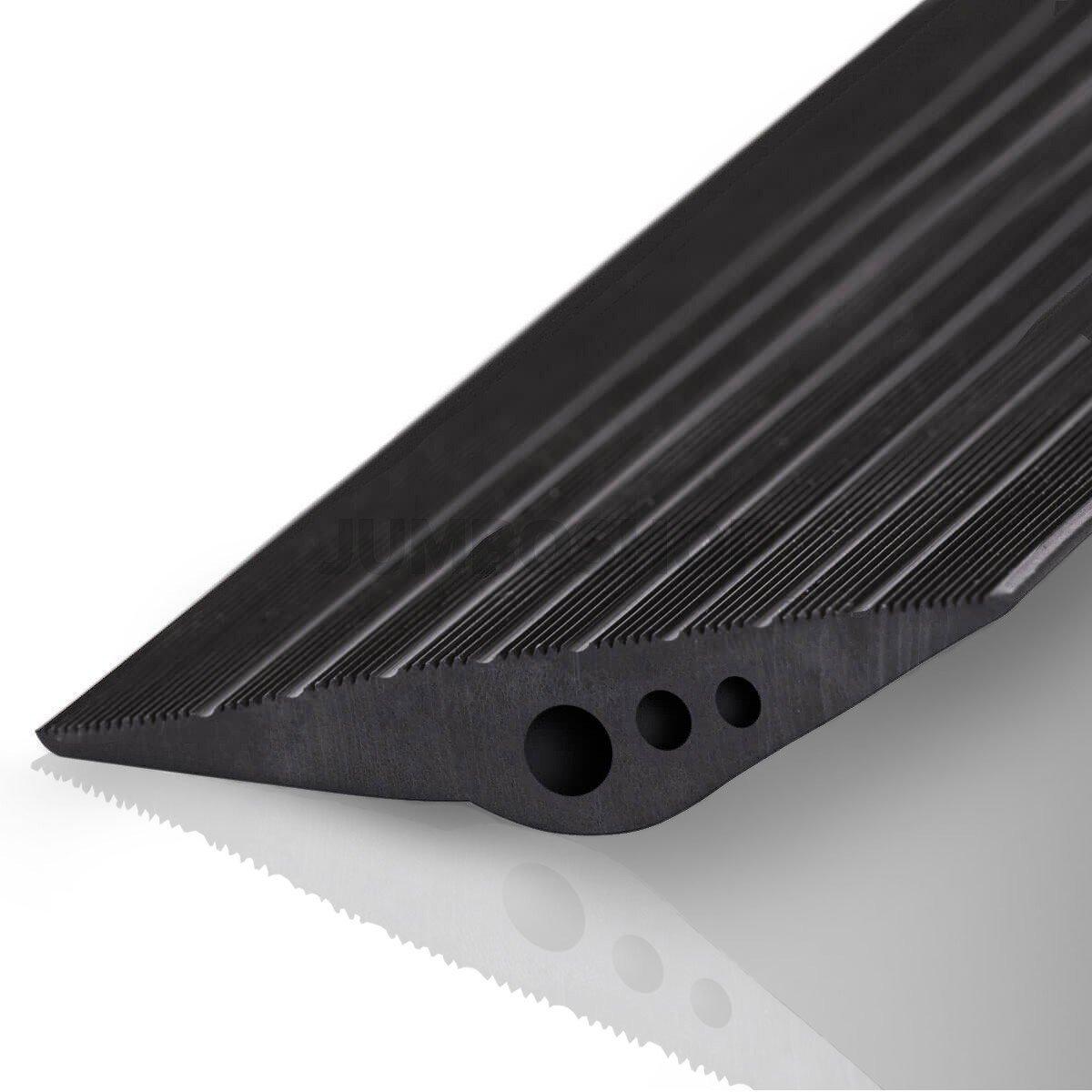 STEIGNER Junta de Garaje con Adhesivo de Montaje Umbral de Garaje de EPDM 5,5 m 14 mm x 78 mm SGD01