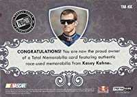 AUTOGRAPHED Kasey Kahne 2012 Press Pass Total Memorabilia DUAL RELIC (Race-Used Tire & Shoe) HOLOFOIL Insert Signed NASCAR Trading Card with COA (#3 of 5)