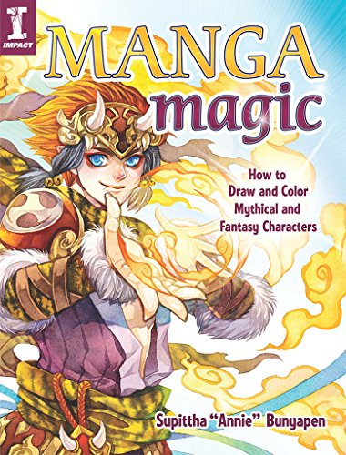 Pdf eBooks Manga Magic: How to Draw and Color Mythical and Fantasy Characters