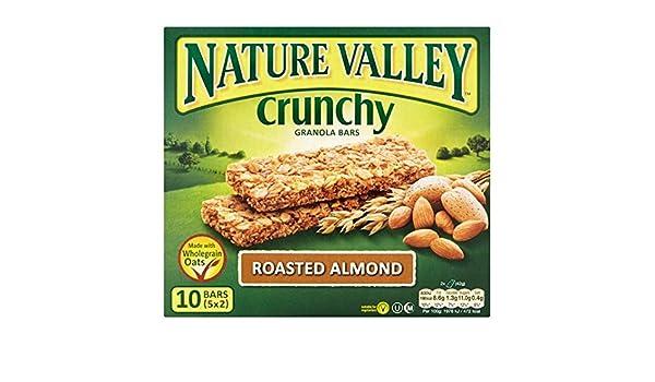 Nature Valley asado Almond barras de granola 5 x 42g: Amazon ...