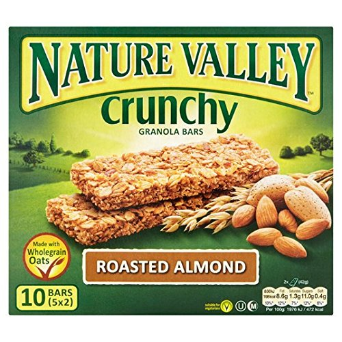 Nature Valley asado Almond barras de granola 5 x 42g: Amazon.es: Alimentación y bebidas