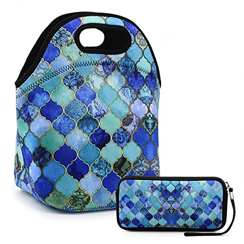 Lunch Insulated Zipper Wallte Floral product image