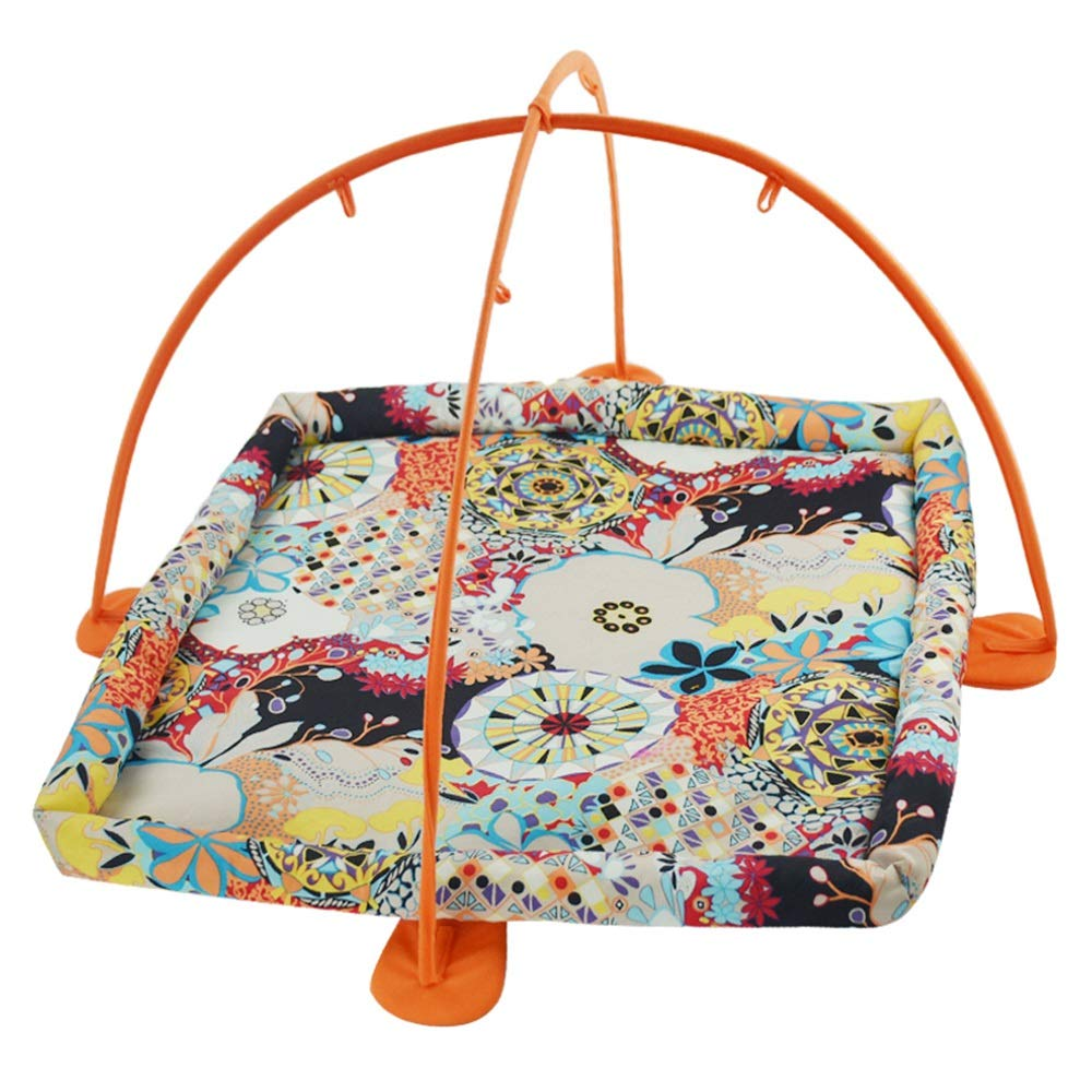 Fun Bell Cat Tent Pet Toy Cat Hammock Toy Exercise Playful Bed