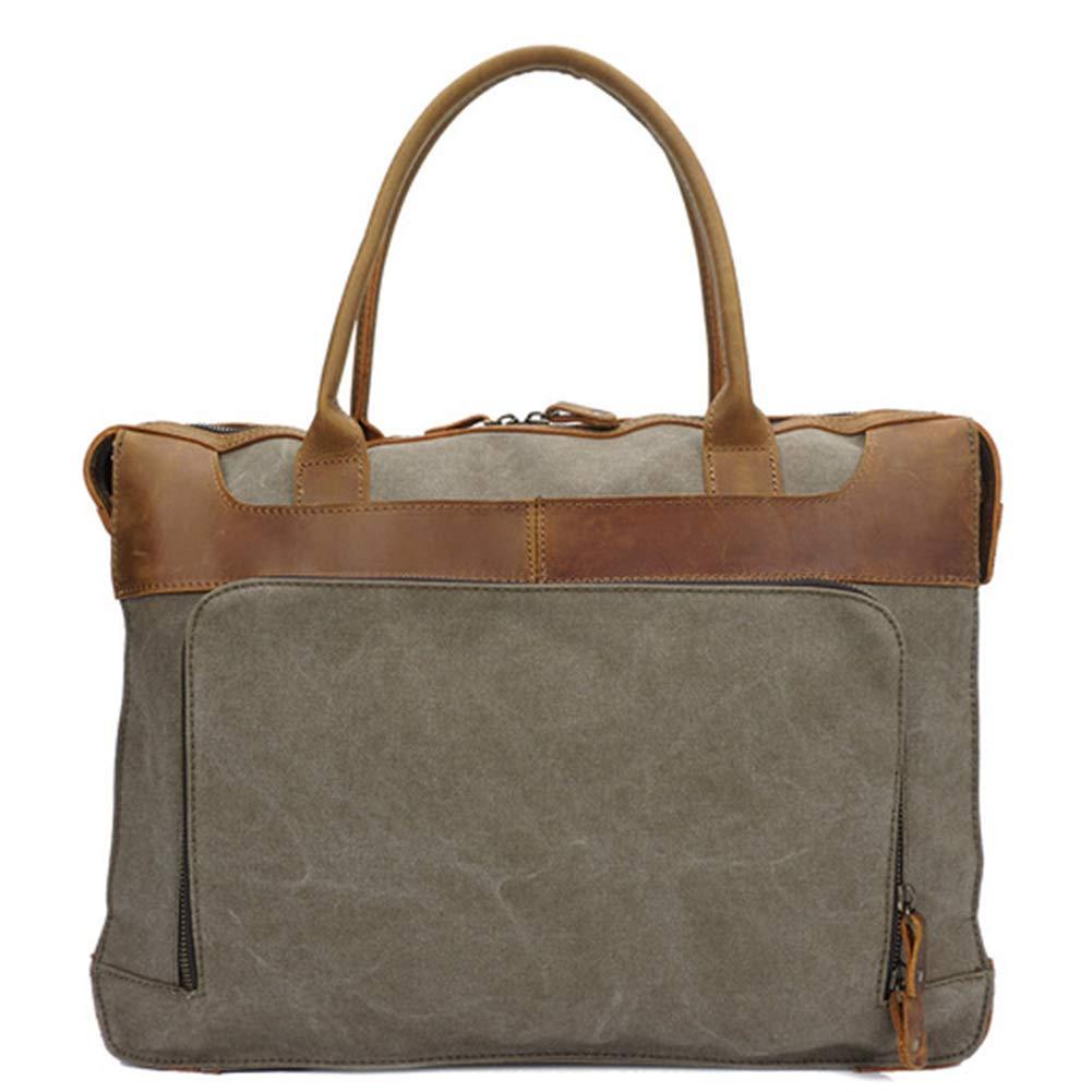 HXZB Canvas Messenger Bag Men Retro Single Shoulder Handbag