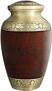 M MEILINXU Urna funeraria para Cenizas de Adultos, urna de