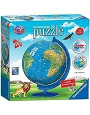 Ravensburger - Children's Globe 3D Puzzleball 180pc Jigsaw Puzzle