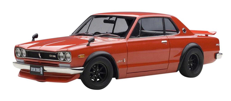 【メーカー包装済】 AUTOart 1/18 B00XKVSI6Y 日産 スカイライン GT-R 1/18 (KPGC10) チューンドバージョン (KPGC10) (レッド) 完成品 B00XKVSI6Y, 神戸市:bec6243b --- test.ips.pl