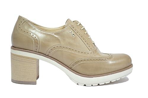 NERO GIARDINI Francesine tortora 7200 scarpe donna mod. P717200D