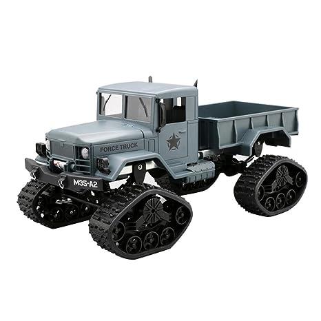 116 Seguimiento Wd Taottao 4 Ruedas Rc Truck Ejército Military RcLq435Aj