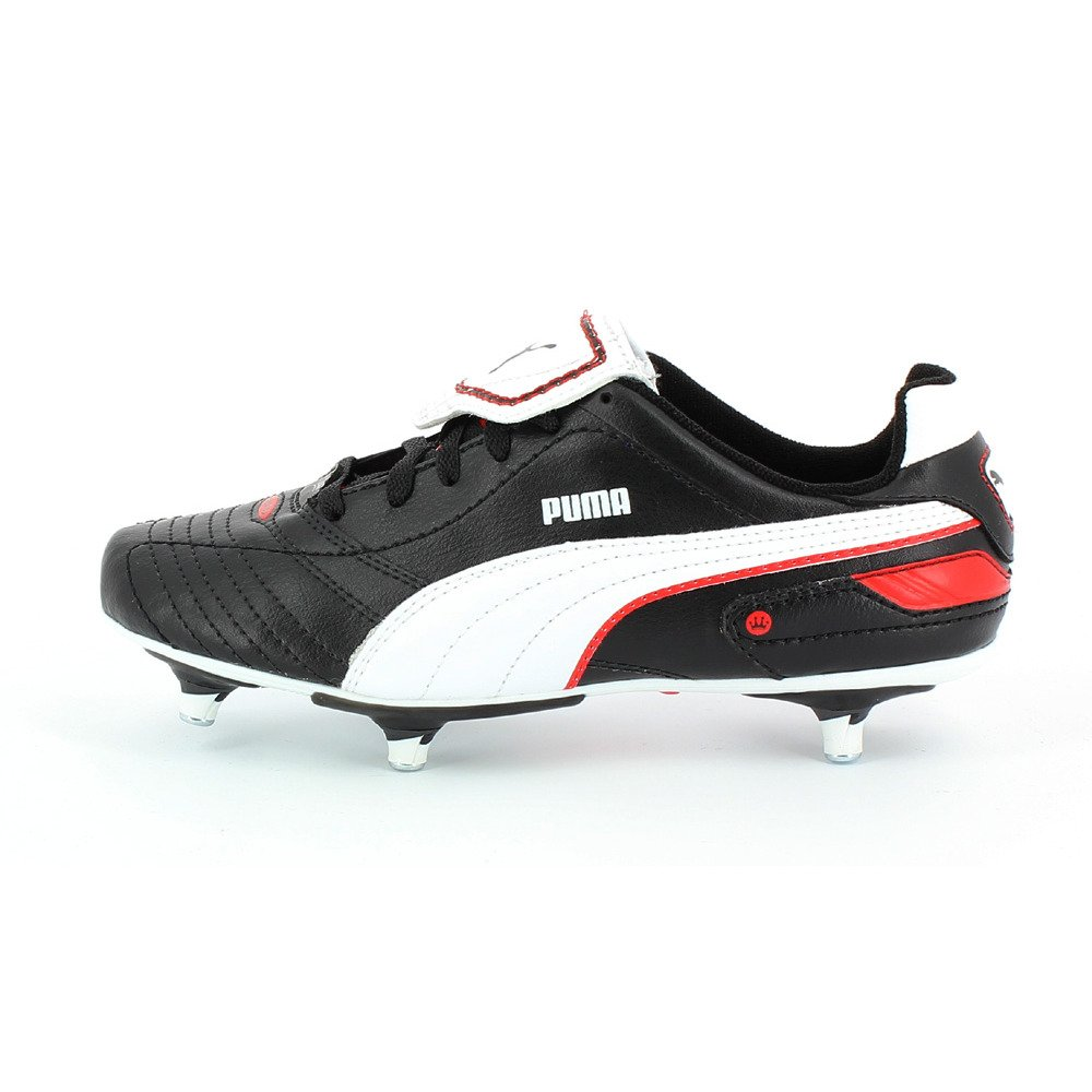 Puma Football Boots Studded Finale SG Jr Black White Red UK10 Infants-UK5  Youths (UK3.5 EU36)  Amazon.co.uk  Shoes   Bags 072e9d5e6