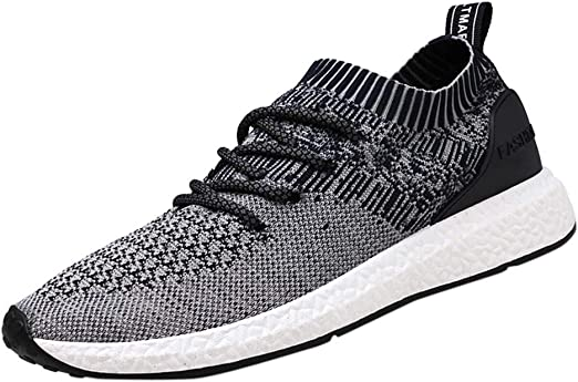 Exclusive Shoebox Mens Womens Fashion Sneakers Ultra Lightweight Breathable Casual Athletic Running Shoes Knitted Shoes