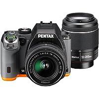 PENTAX デジタル一眼レフ PENTAX K-S2 ダブルズームキット (ブラック×オレンジ) PENTAX K-S2 WZOOMKIT (BLACK×ORANGE) 13221