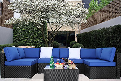 Light Blue Patio Furniture