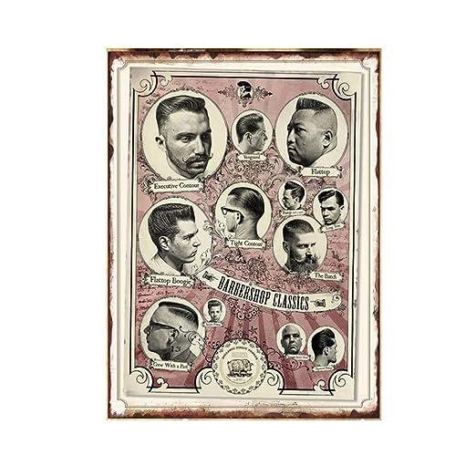 Shunry Barbershop Time Soul Placa Cartel Vintage Estaño ...