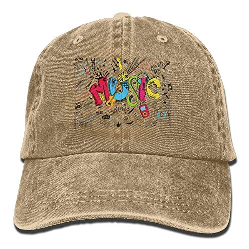 JHDHVRFRr Hat Music Party Denim Skull Cap Cowboy Cowgirl Sport Hats for Men Women