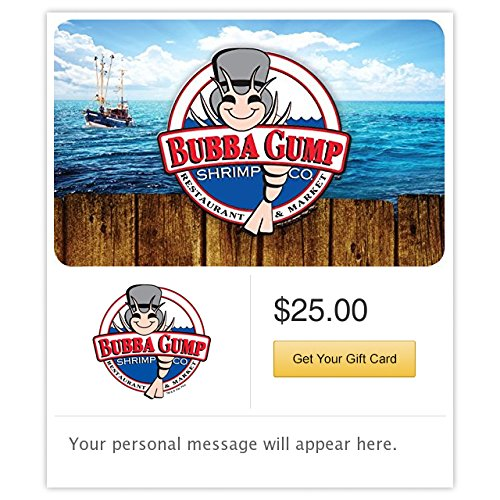 Bubba Gump Shrimp Co. - E-mail Delivery for sale  Delivered anywhere in USA