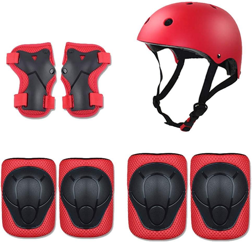 ZJHHW Casque de Protection pour Enfants /équitation Set de Protection pour Enfants Skate Gear 7 Sets