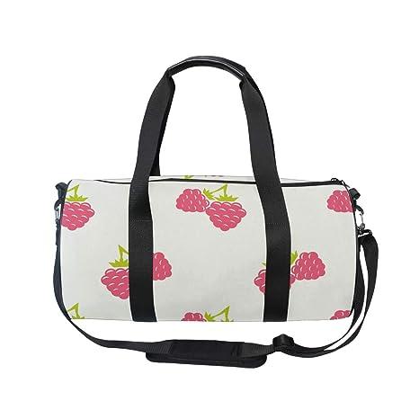 MALPLENA Special Fruits Drum gym duffel bag women Travel Bag