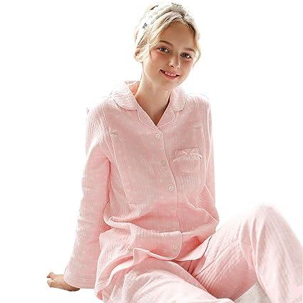 57d5c317ca5a8 Sleepwear Pajamas Pregnant Ladies' Cotton Loose Nightwear Dark Pink  Pregnancy Sleepwears Winter Breastfeeding Clothes Pregnant
