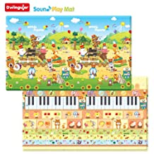 Dwinguler Non toxic Sound Playmat / Baby Toddler Kids Children Soft Play Mat / Toy Mat - Music Parade