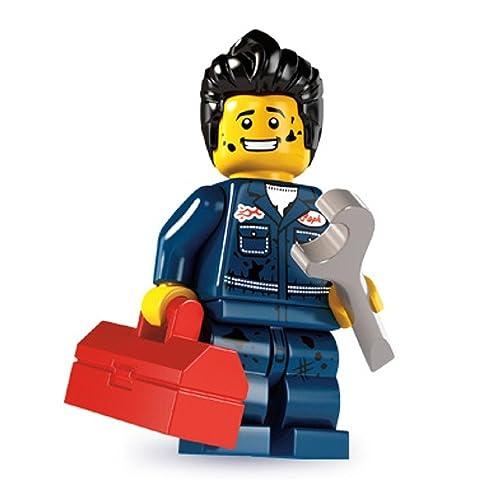 LEGO Collectable Minifigures: Mechanic Minifigure (Series 6)