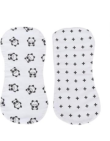 SUPVOX 2pcs Muselinas para Bebé de Algodón 80x80 cm para la higiene del bebé (Panda