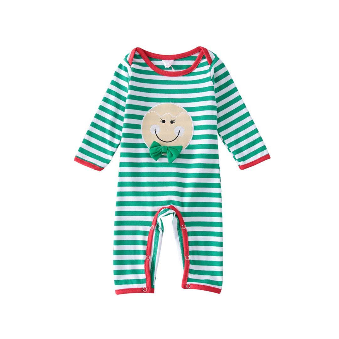 【上品】 Fairy Baby B07JZF1XTX SLEEPWEAR SLEEPWEAR Months 12 - 18 Months グリーンストライプ B07JZF1XTX, あなたの近くのお庭専門店:327b1e99 --- a0267596.xsph.ru