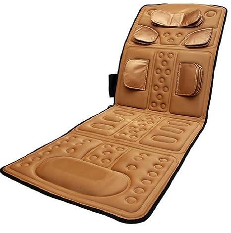 AMYMGLL Aire acondicionado colchones de masaje multifunción terapia infrarroja masaje colchones airbags silla de masaje cama
